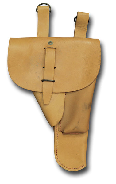 FRENCH MILITARY HOLSTER - TAN DESERT / DOUBLE LOOP