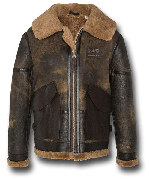 SCHOTT LCWEAPON18 SHEEPSKIN JACKET