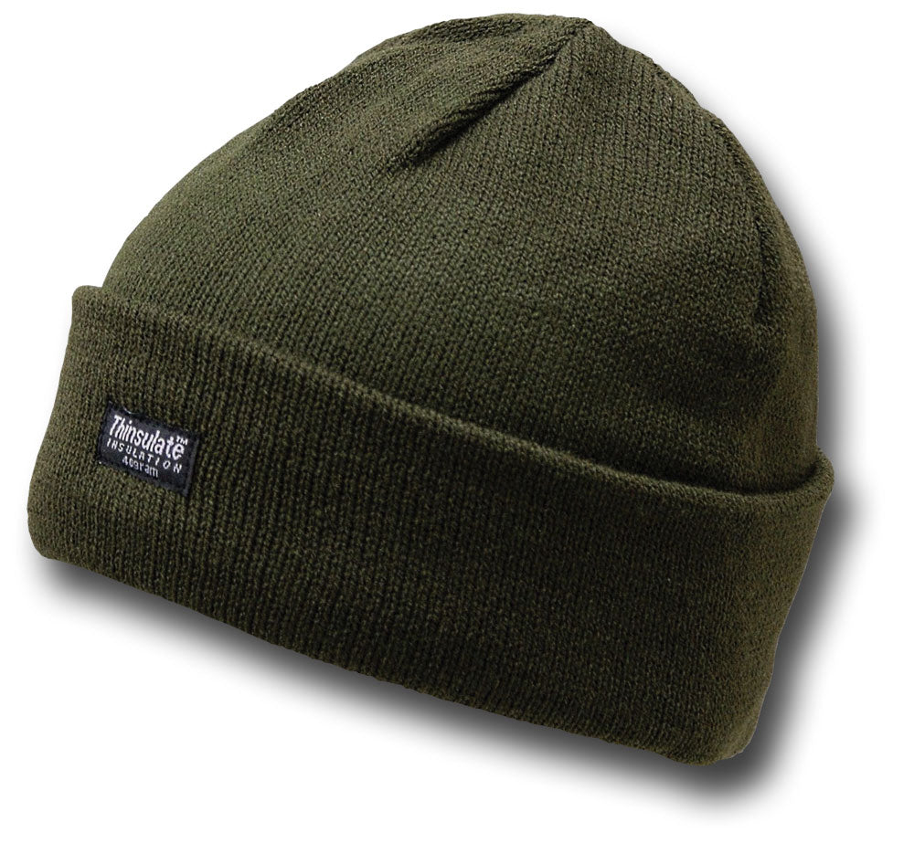 6ddc5567a25 ... THINSULATE KNITTED BEANIE HAT - GREEN