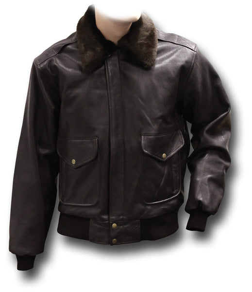GTH A3-K BROWN LEATHER JACKET