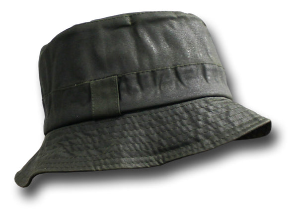 BARBOUR A115 WAXED BUCKET HAT