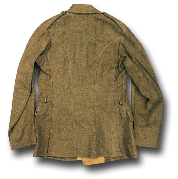KHAKI 4-POCKET TUNIC 1946 DATE - BACK
