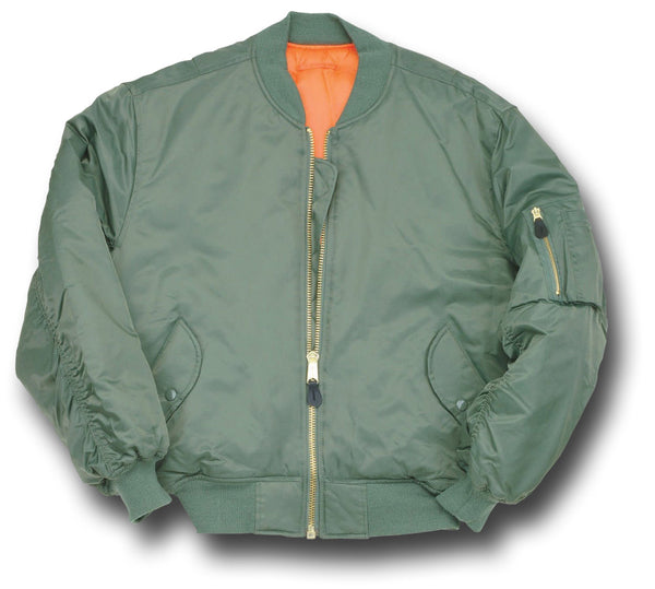 CLASSIC STYLE MA1 JACKET - GREEN
