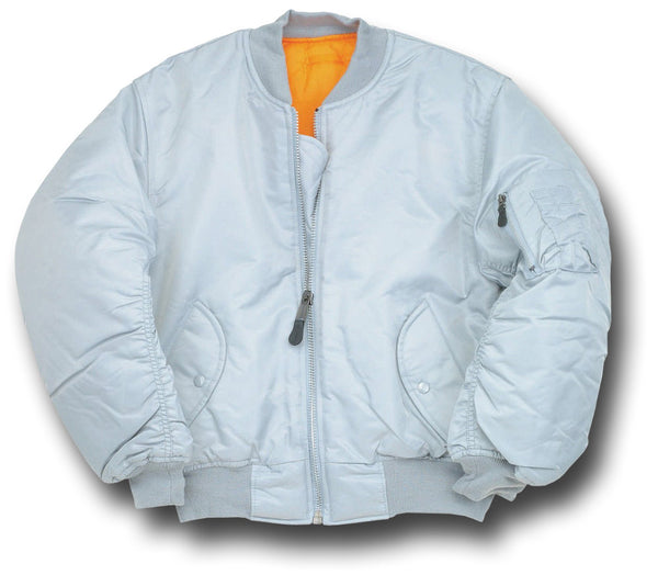 CLASSIC STYLE MA1 JACKET - SILVER