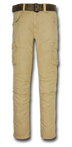 SCHOTT BATTLE TROUSERS - BEIGE