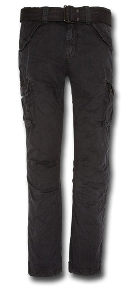 SCHOTT BATTLE TROUSERS - BLACK