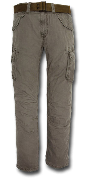 SCHOTT BATTLE TROUSERS - KHAKI