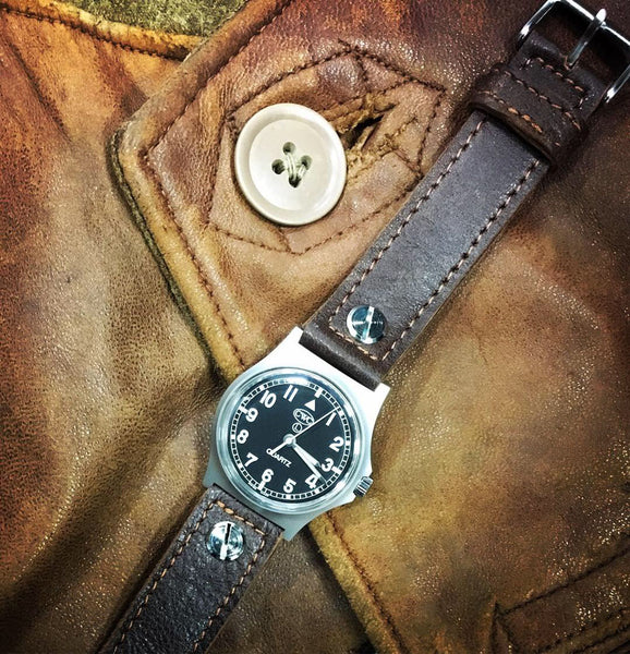 CWC LEATHER JERKIN STRAP