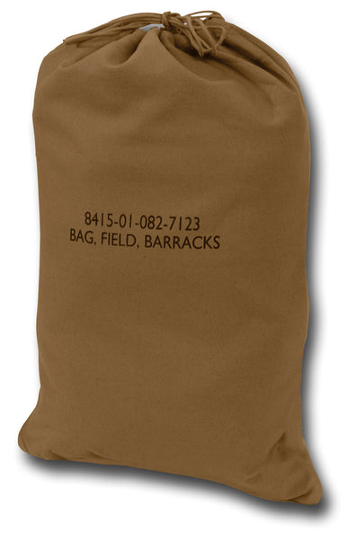 GI TYPE CANVAS BARRACKS BAG