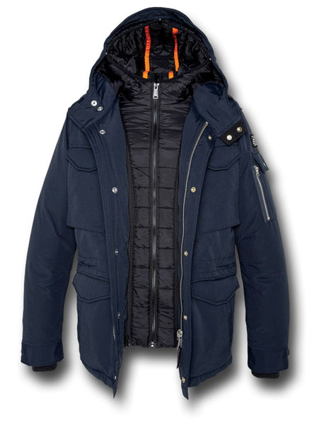SCHOTT SMITH18 JACKET - NAVY