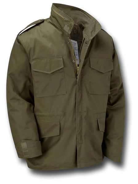 M65 STYLE JACKET WITH LINER - GREEN