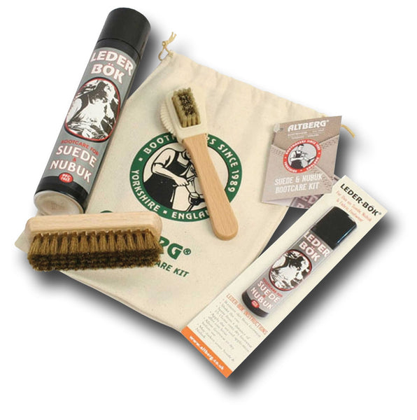 ALTBERG BOOTCARE KIT SUEDE