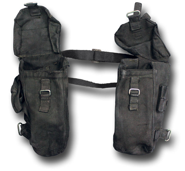 MOTORCYCLE TOOL PANNIERS - BLACK
