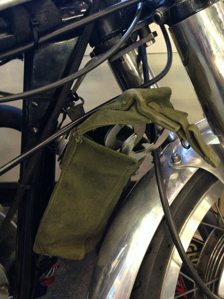 MOTORCYCLE TOOL PANNIERS - GREEN