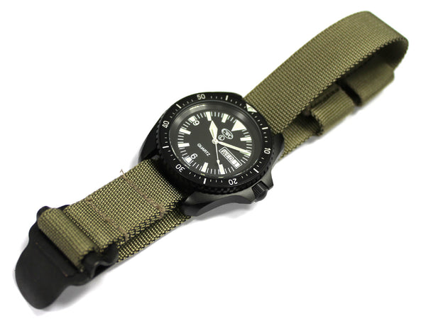 FALKLANDS MARINES WATCH STRAP - ON WATCH