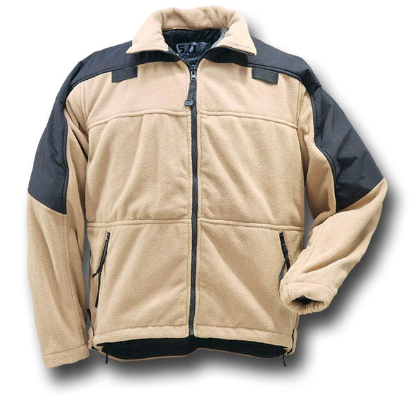 5.11 AGGRESSOR PARKA - COYOTE - INSIDE