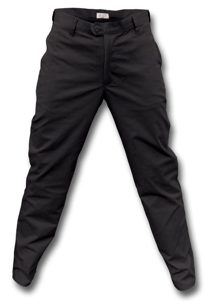 CWCW CHINO TROUSERS - BLACK