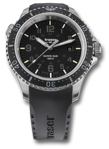 TRASER P67 SUPERSUB WATCH - BLACK