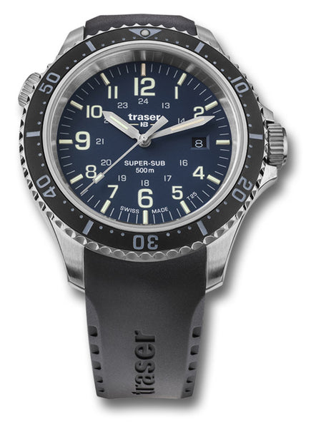TRASER P67 SUPERSUB WATCH - BLUE