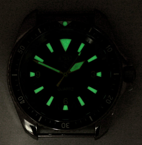CWC QUARTZ RN DIVERS WATCH MK.2 - GLOW