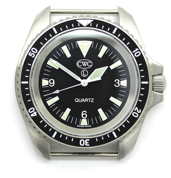 CWC RN DIVERS WATCH MATTE - FRONT