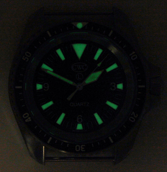 CWC RN DIVERS WATCH MATTE - GLOW