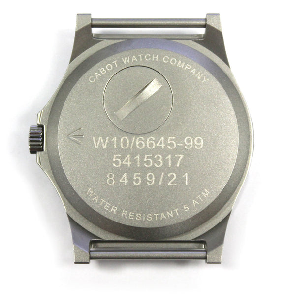CWC G10 MILITARY ISSUE WATCH - BACK