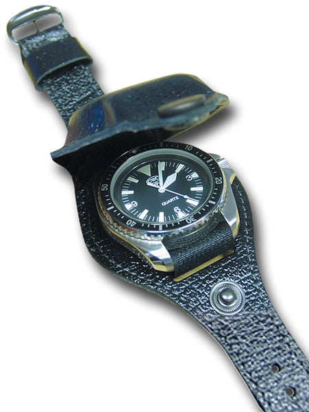 LEATHER WATCH STRAP & COVER - Silvermans  - 2