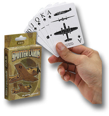 WWII SPOTTER PLAYING CARDS - Silvermans  - 2