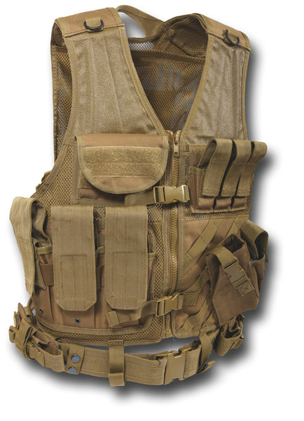 MOLLE CROSS DRAW TACTICAL VEST - Silvermans  - 2