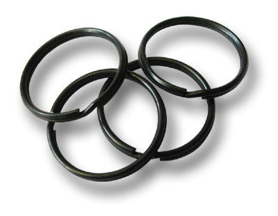4 BLACK KEY RING LOOPS - Silvermans  - 2