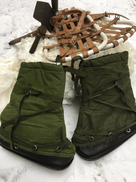 GREEN ARMY THERMAL MOONBOOTS