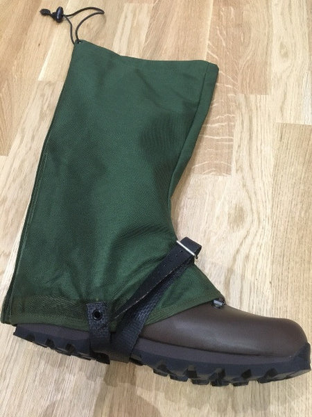 GREEN GORETEX ARMY GAITERS - Silvermans  - 4