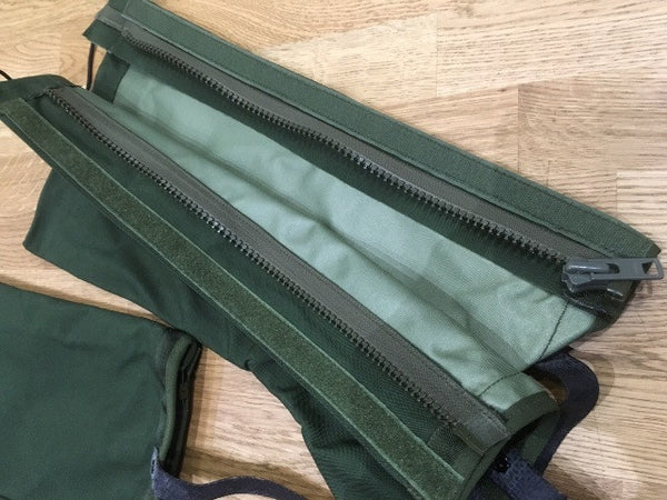 GREEN GORETEX ARMY GAITERS - Silvermans  - 6