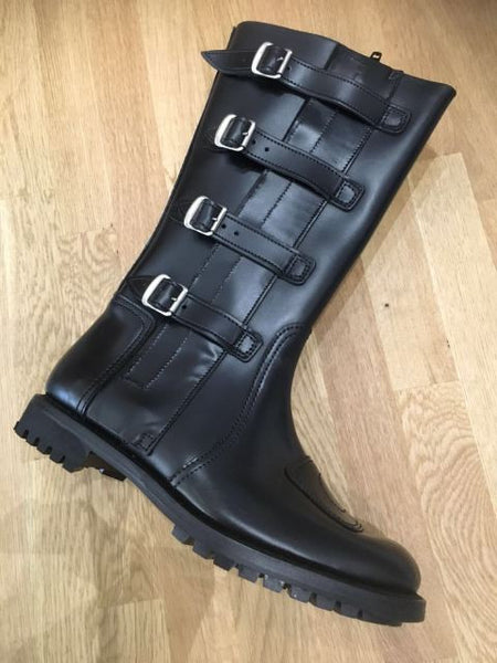GOLD TOP BRITISH DESPATCH RIDER BOOTS size 12.