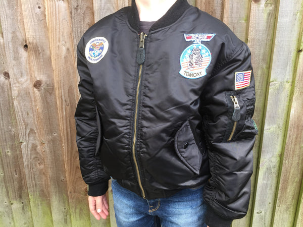 KIDS MA1 FLIGHT JACKET - Silvermans  - 5