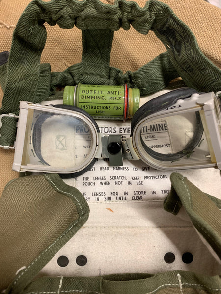 BOMB DISPOSAL GOGGLES