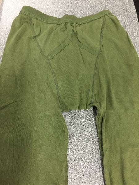 COLD WEATHER GREEN LONG JOHNS - Silvermans  - 2