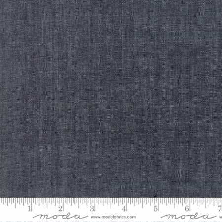 Quilting Fabric by the 1/2 Yard Moda Chambray Black