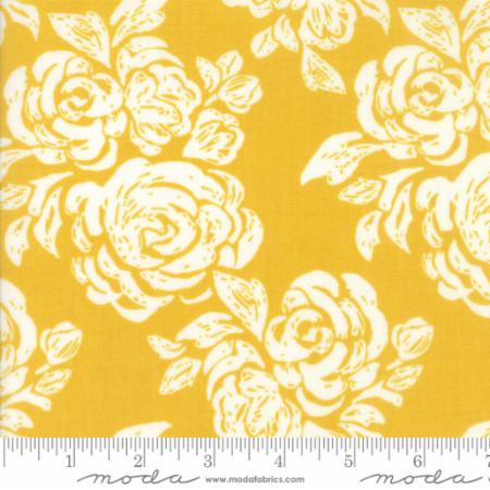Moda Kate Spain Early Bird By The 1/2 Yard Blooms Honey