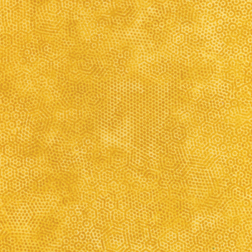 Andover  Fabric by the Half Yard Dimples Color Y4 Rajah