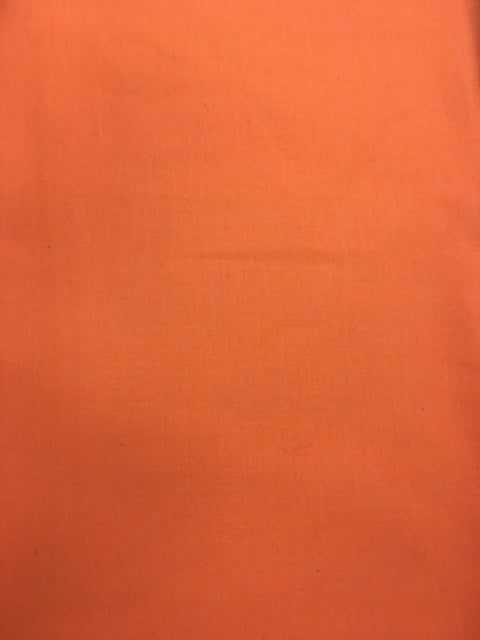 Riley Blake Solids Neon Orange By The 1/2 Yard