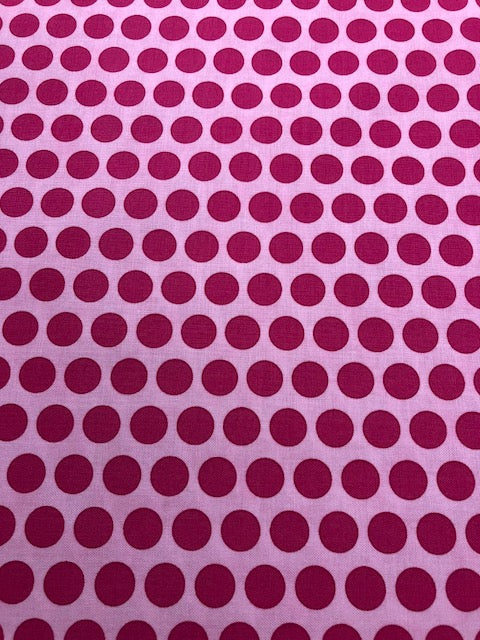 Frolic Pink Moda Quilting Fabrics By The 1/2 Yard Me & My Sister Designs