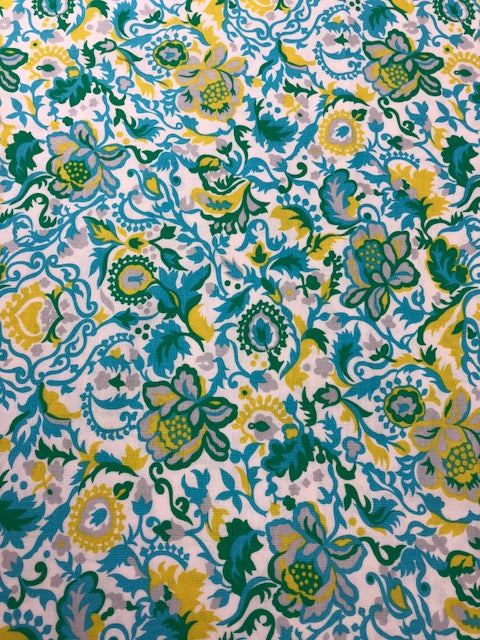 Sis Boom Sunny Isle By The 1/2 Yard Quilting Fabric Claire Sky