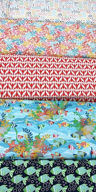 Blank Textiles Seabuddies Fat Quarter Bundle 5