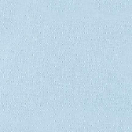 Kona Solid Baby Blue #1010  Quilting 100% Cotton Solid Fabric By The 1/2 Yard