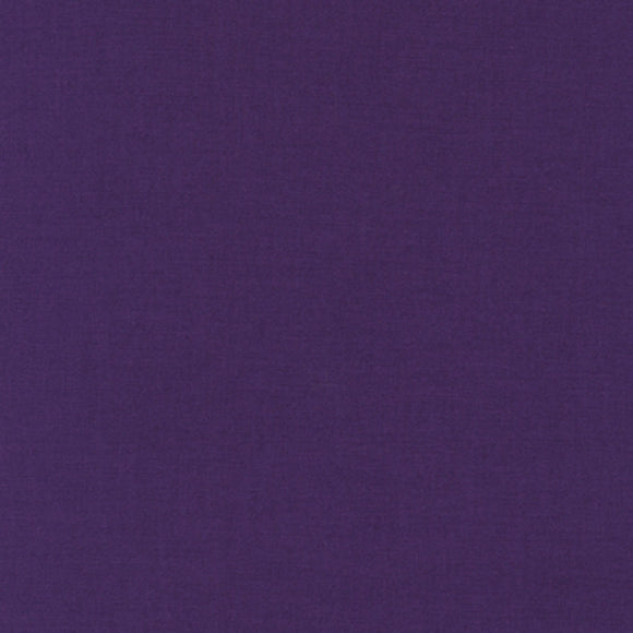 Kona Purple Solid #1301 Quilting 100% Cotton Solid Fabric By The 1/2 Yard