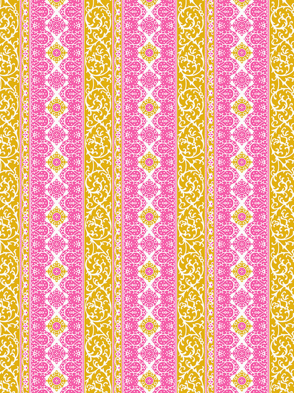 Free Spirit Fabrics Sugar Beach Sis Boom Jennifer Paganelli Quilting Fabric By The 1/2 Yard Edwina Saffron