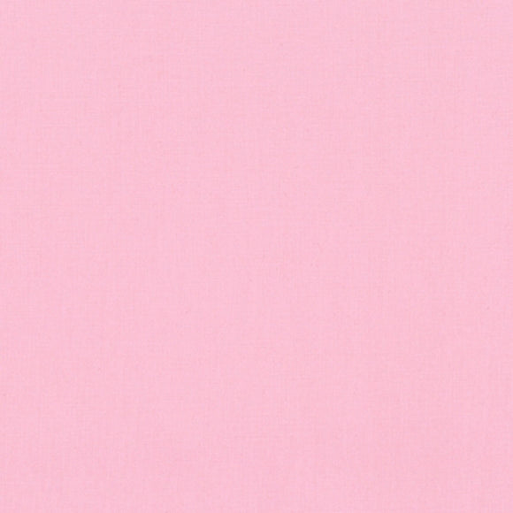 Kona Baby Pink #189  Quilting 100% Cotton Solid Fabric By The 1/2 Yard