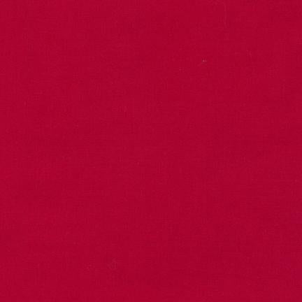 Kona Cardinal #1063 Quilting 100% Cotton Solid Fabric By The 1/2Yard